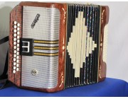 Russian Garmon button accordion