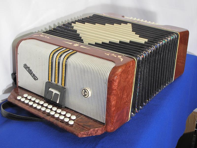 Russian Garmon button accordion