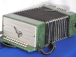 Russian folk accordion