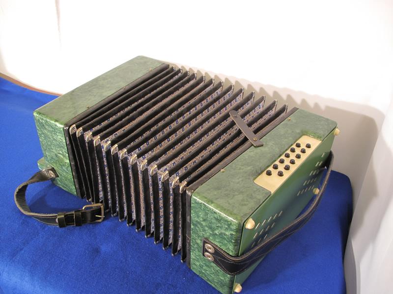 Russian folk accordion