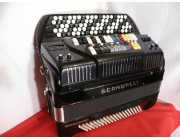 Scandalli C system MIDI accordion with expander