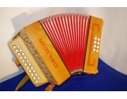 Delicia 21 button 8 bass wood accordion melodion diatonic