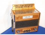 Delicia 21 button 8 bass MIDI accordion melodion