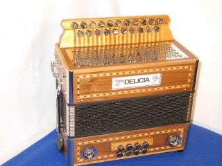 Delicia 21 button 8 bass accordion