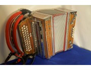 Kaps accordion made in Slovenia