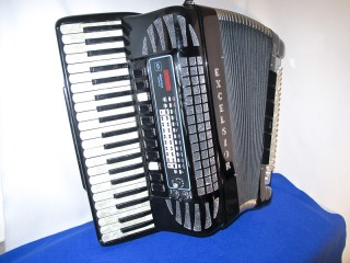 Excelsior Midivox 3 120 bass tone chamber accordion
