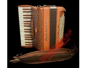 Paolo Soprani Folk 34 key 96 bass 3 voice wood accordion.  Midi expansion available.