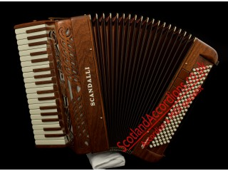 Scandalli Intense Midi Accordion Tone Chamber