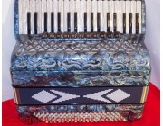 BRANDONI ACCORDION 4 voice Musette tuned 37 Treble Key 120 Bass