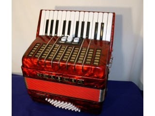 Delicia 26 key 48 bass in Red