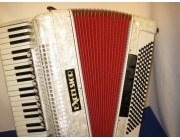 EXCELSIOR ACCORDION 41 treble key 120 bass white