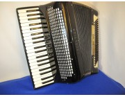 Excelsior 120 bass accordion in black