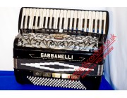 Gabanelli 41 key / 120 bass excellent 4 voice musette accordion
