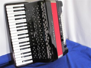 New Moreschi 3 voice piano accordion -Last one