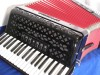 New Moreschi 3 voice piano accordion black