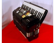 Farfisa Syntaccordion MIDI piano accordion, with new MIDI expander black