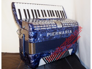Piermaria 37 key / 96 bass blue - super accordion