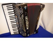 Moreschi reedless decorated lightweight accordion