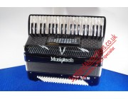 Musictech 50 Reedless piano accordion + new speaker amplifier
