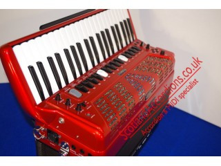 Roland FR7 Reedless Accordion red