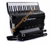 E. Soprani 4 voice 120 bass Midi Accordion with sound expander