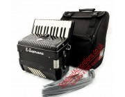 E.Soprani New Black 26 key 48 bass piano accordion