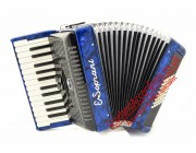 E.Soprani New Blue 26 key 48 bass piano accordion