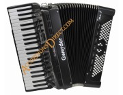 Gwerder 120 bass Reedless Accordion with rhythms
