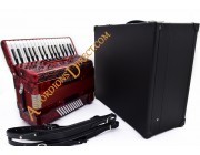 Moreschi 34 key 72 bass 3 voice compact accordion.  Midi expansion option.