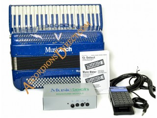 MusicTech Special Digital 50 Piano accordion + new speaker amplifier