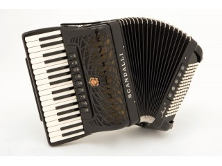 Scandalli Air II 34 key 72 bass 4 voice Tone Chamber accordion.  Midi expansion available.