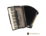 Scandalli Super VI Extreme 41 Key 120 bass Tone Chamber accordion.  Midi systems available.