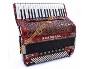 Scandalli Air III 37 key 96 bass 4 voice Scottish tuned Cassotto Tone Chamber accordion.  Midi expansion available.