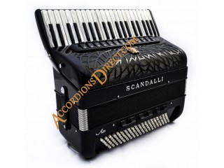 Scandalli Air IV 41 key 120 bass 4 voice Scottish tuned Tone Chamber accordion.  Midi expansion available.