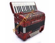 New Scandalli Air Junior 34 key 72 bass 4 voice Scottish tuned accordion