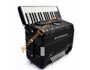 New Scandalli Air Junior 34 key 72 bass 4 voice Scottish tuned  accordion.  Midi expansion available.