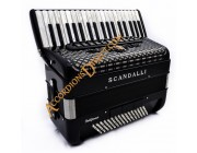 Scandalli Polifonico IX 37 key 96 bass 37 Key 96 bass accordion.  Midi systems available.