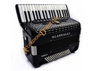 Scandalli Polifonico IX Midi Accordion 37 key 96 bass.